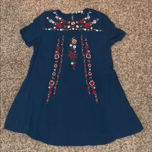 Floral boutique dress